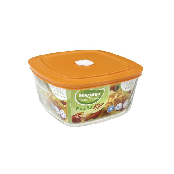 Facilita Square Food Storage Container by Marinex