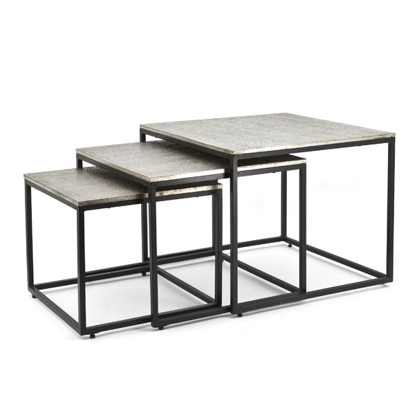 Extendable Floor Shelf 3 Nesting Tables By By Boo