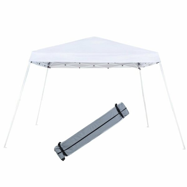 Slant Leg 12 Ft. W x 12 Ft. D Steel Pop-Up Canopy by Abba Patio