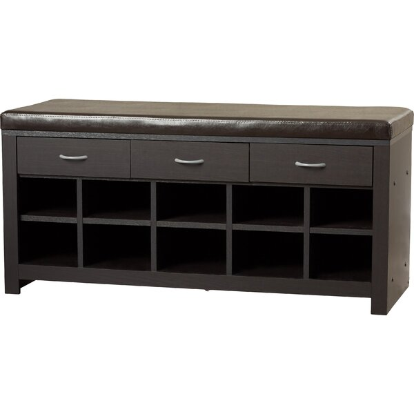 Turnbow Upholstered Storage Bench