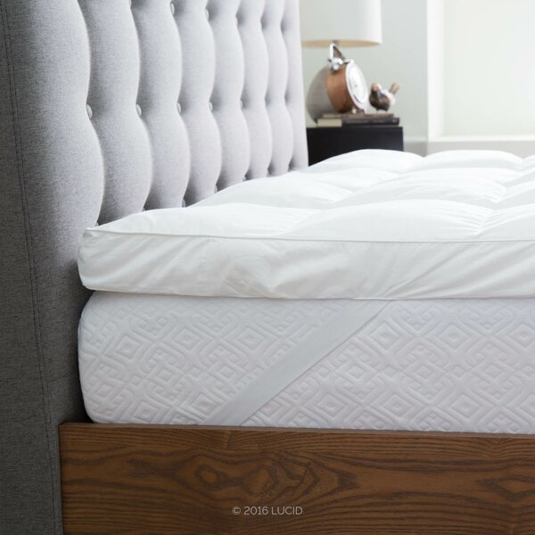 Trahan 3 Down Alternative Mattress Topper by The Twillery Co.