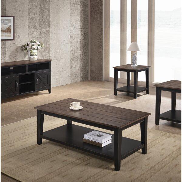 Morel Rectangular Coffee Table by Loon Peak