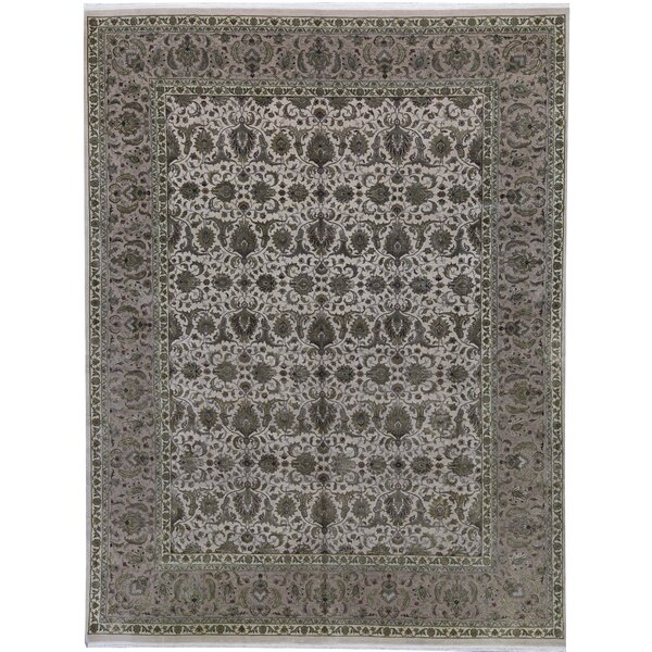 One-of-a-Kind Chantel Hand-Knotted Brown 11'11 x 15'7 Area Rug