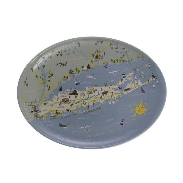 Saffron Melamine Platter by Winston Porter