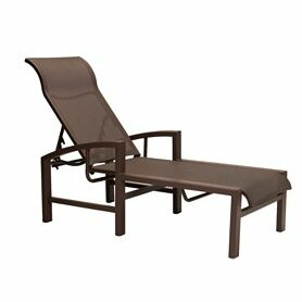 Lakeside Reclining Chaise Lounge by Tropitone