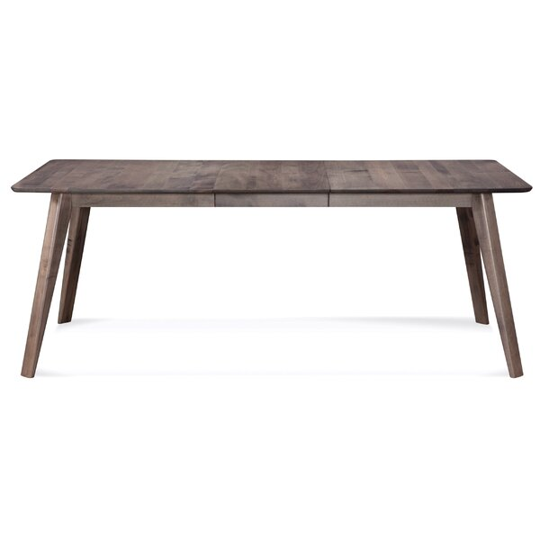Mascher Solid Wood Dining Table by Union Rustic