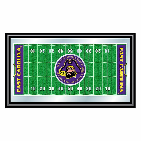 NCAA Football Field Framed Vintage Advertisement by Trademark Global