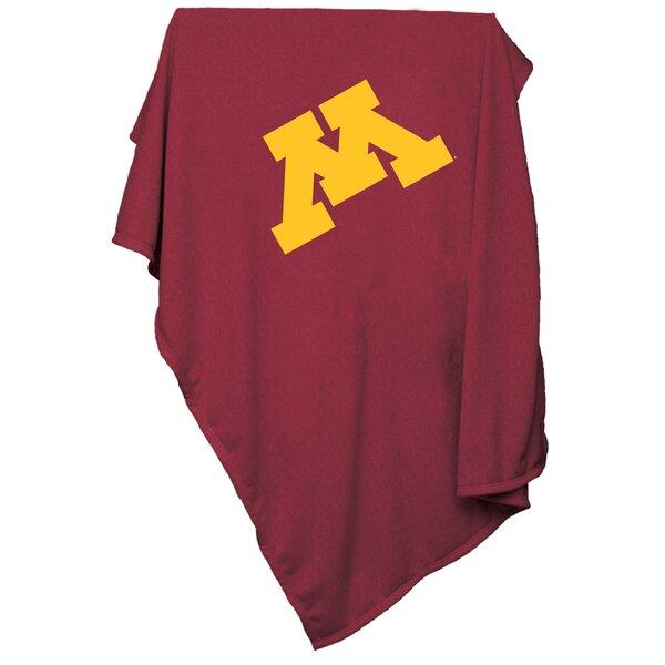 Minnesota Sweatshirt Blanket by Logo Brands