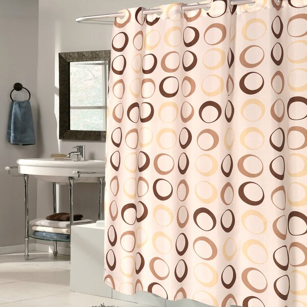 Circle EVA Shower Curtain by Sweet Home Collection