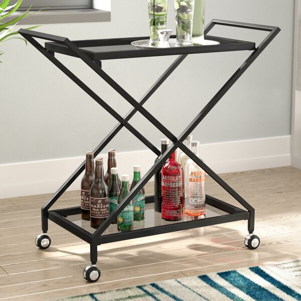 Burke Bar Cart by Ivy Bronx Ivy Bronx