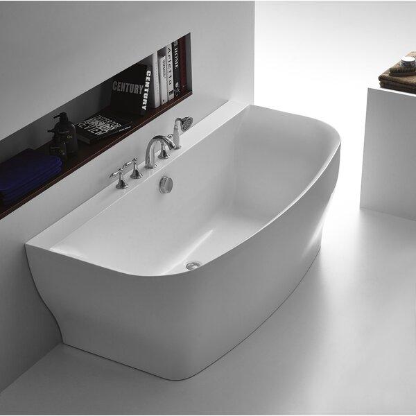 Bank Series 65'' x 31'' Freestanding Soaking Bathtub by ANZZI
