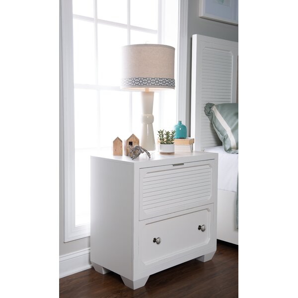 Toledo 2 Drawer Nightstand by Rosecliff Heights