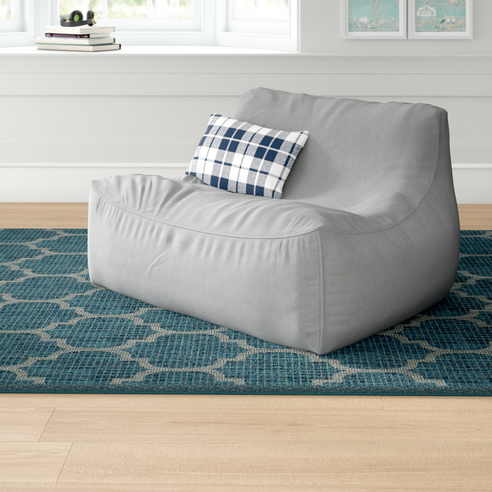 Excellent Grovelane Teen Extra Large Bean Bag Sofa Reviews Wayfair Inzonedesignstudio Interior Chair Design Inzonedesignstudiocom