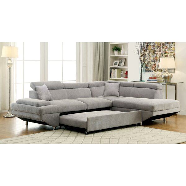 Aprie Sleeper Sectional Collection by Orren Ellis