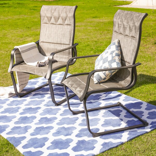 Signorelli Patio Dining Chair (Set Of 2) By Charlton Home