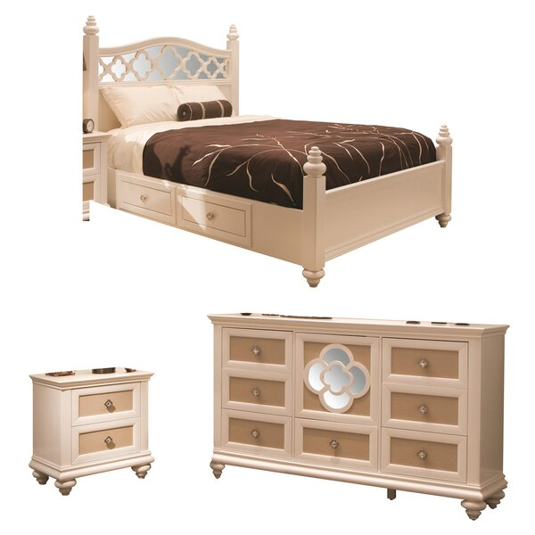 Paris Platform Configurable Bedroom Set by Najarian Furniture