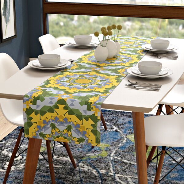 Alison Soupcoff Sunflower Table Runner by East Urban Home