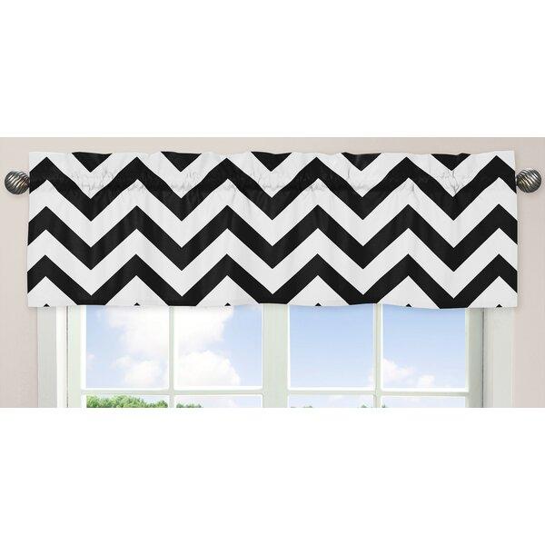Chevron 54 Curtain Valance by Sweet Jojo Designs