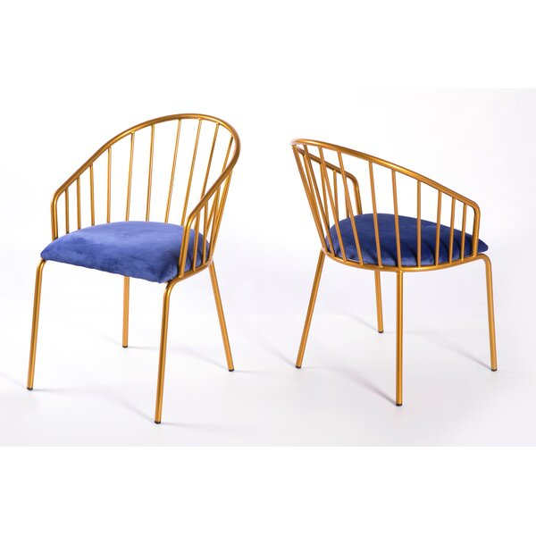 Durr Barrel Chair (Set of 2) by Everly Quinn