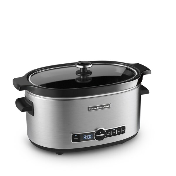 6 Qt. Slow Cooker by KitchenAid
