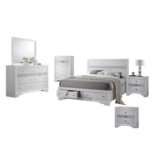 Ewan Standard 6 Piece Bedroom Set By House Of Hampton Today Only Sale