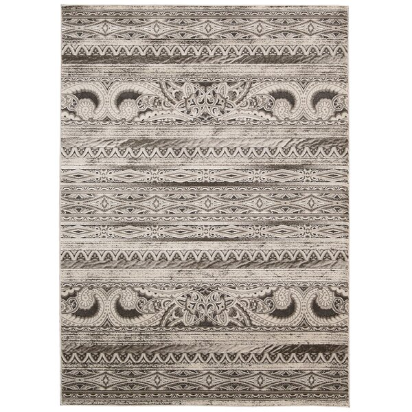 Saliba Beige Area Rug by Bungalow Rose