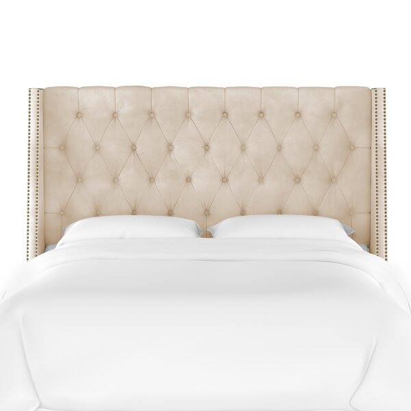 Mcgowan Upholstered Wingback Headboard by Rosdorf Park