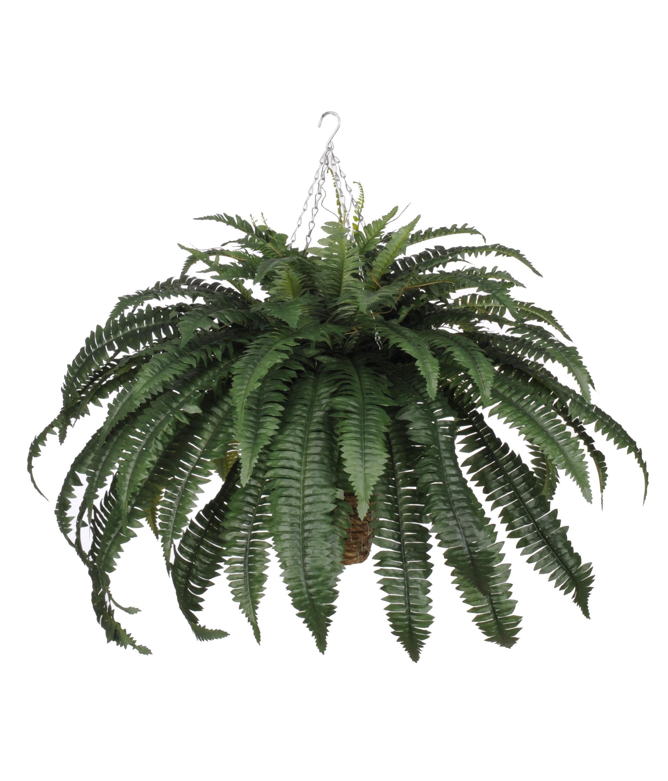house of silk flowers artificial fern hanging plant in beehive