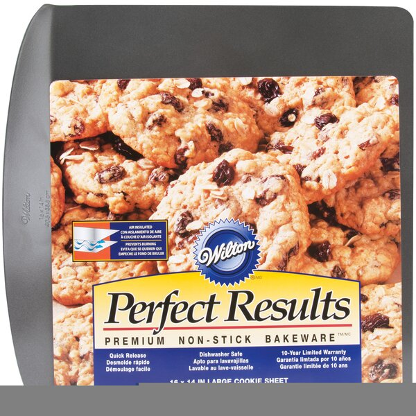 Non-Stick Air Insulated Cookie Sheet by Wilton