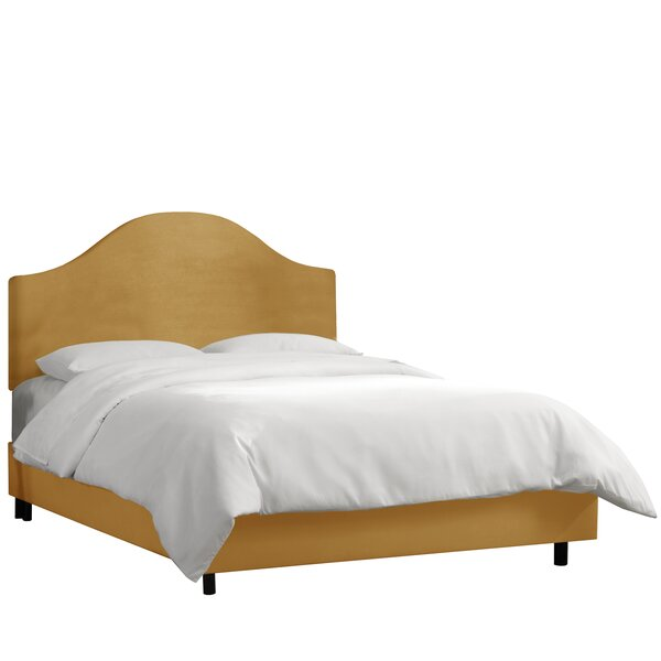 Mystere Upholstered Standard Bed by Alcott Hill