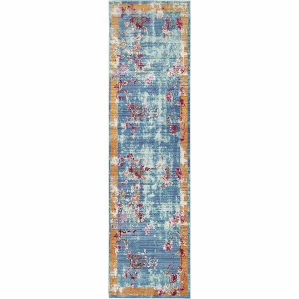 Fulkerson Power Loom Blue Rug