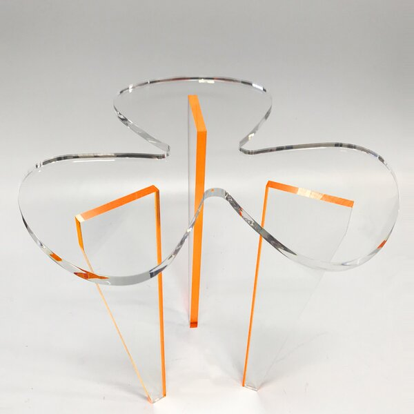 Clover Acrylic End Table by DecorumBY