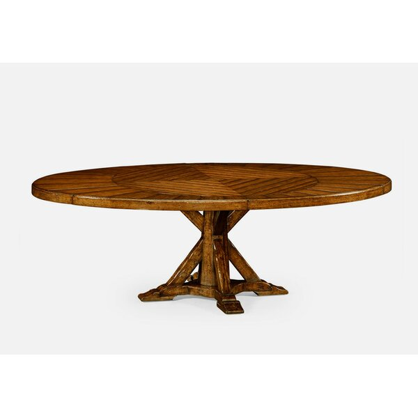 Extendable Solid Wood Dining Table by Jonathan Charles Fine Furniture Jonathan Charles Fine Furniture