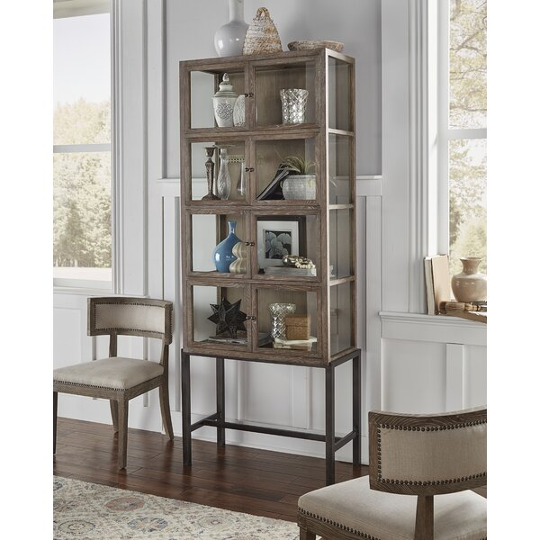 Zenaida Display Curio Cabinet by Gracie Oaks
