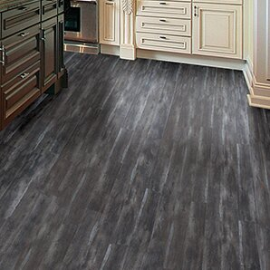 Timeless Revolution 6.5 x 48 x 12mm Canadian Maple Laminate Flooring in Peppercorn by All American Hardwood
