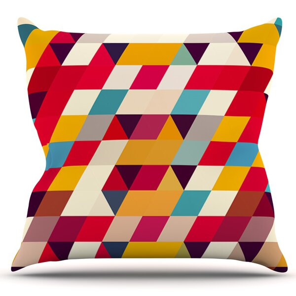 Kyoto by Danny Ivan Outdoor Throw Pillow by East Urban Home