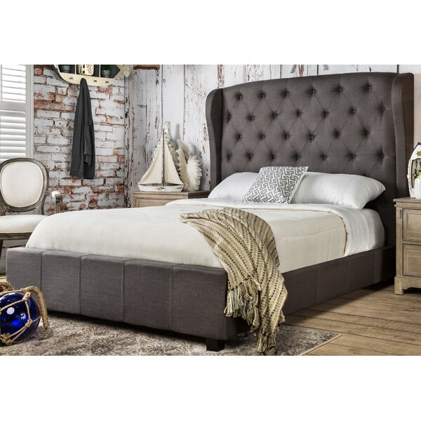 Florenza Upholstered Platform Bed by Hokku Designs
