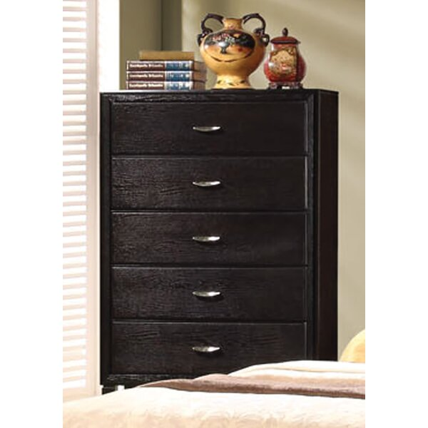 Volkonskaya 5 Drawer Chest by Latitude Run
