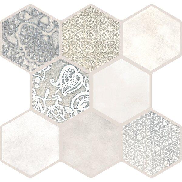 Virtue 18 x 18 Porcelain Field Tile in Virtue Ivory by Emser Tile
