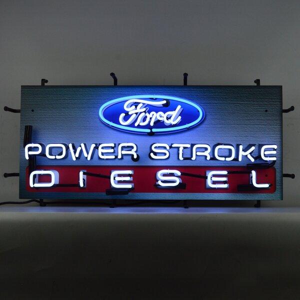 Ford Power Stroke Diesel Wall Light by Neonetics