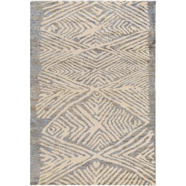 Orinocco Hand-Woven Gray/Beige Area Rug by Jill Rosenwald Home
