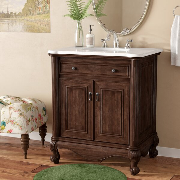 Stockholm 30 Single Bathroom Vanity Set by Astoria Grand