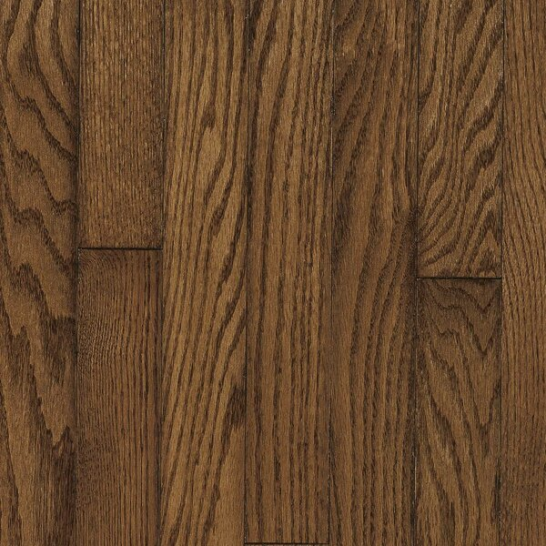 Ascot Strip 2-1/4 Solid Oak Hardwood Flooring in Mink by Armstrong Flooring
