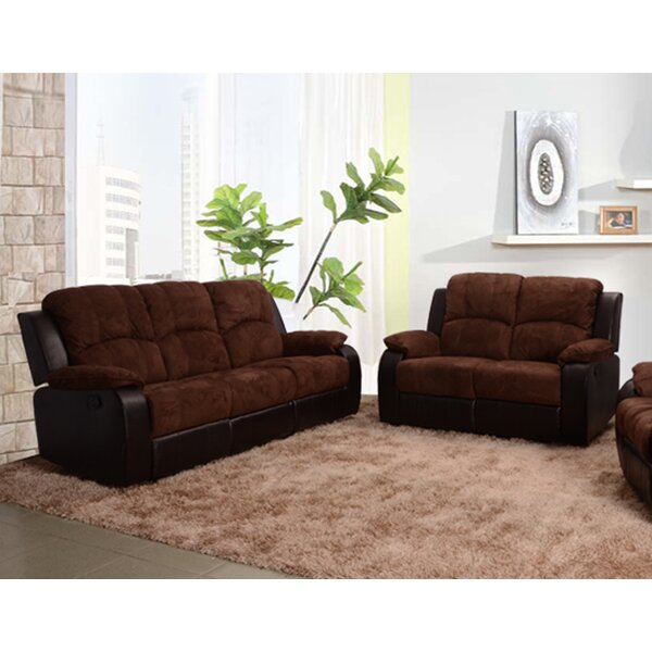 Pamela Reclining 2 Piece Living Room Set by Beverly Fine Furniture