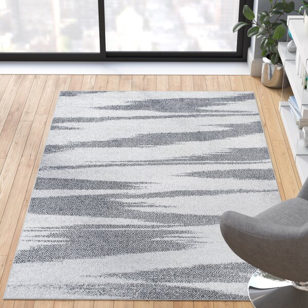 Joondalup Gray Area Rug By Wade Logan.