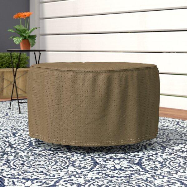 Wayfair Basics Round Patio Ottoman or Side Table Cover by Wayfair Basics™