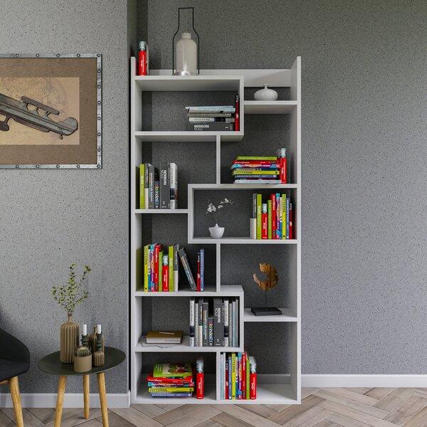 Amergin Geometric Bookcase By Latitude Run