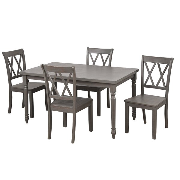 Amazing Kristopher 5 Piece Dining Set By Ophelia & Co. 2019 Sale