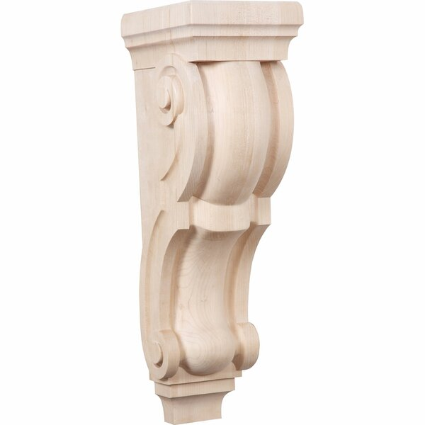 Traditional 22H x 6 1/2W x 8D Pilaster Corbel by Ekena Millwork