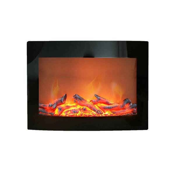 Daniel Wall Mounted Electric Fireplace By Paramount